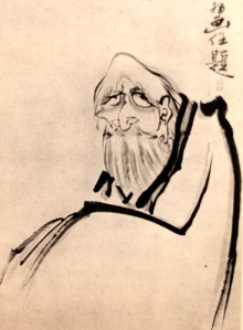 Sengai - Bodhidharma